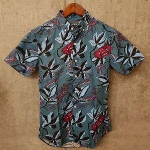 1d0f695c Bonobos Shirts | Riviera Short Sleeve Shirt Blue Bali High | Poshmark